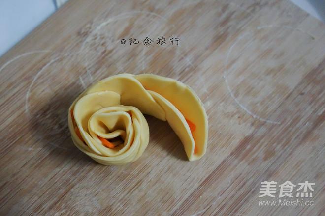 双色玫瑰花饺子怎样煮