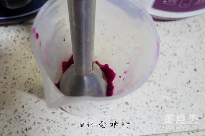 火龙果酸奶奶昔的做法大全
