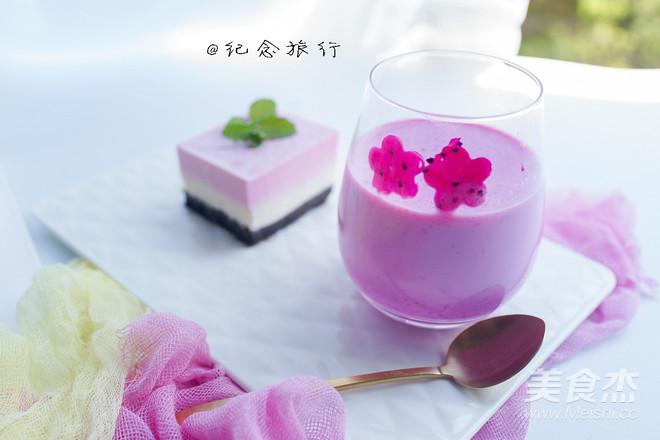 火龙果酸奶奶昔怎么吃