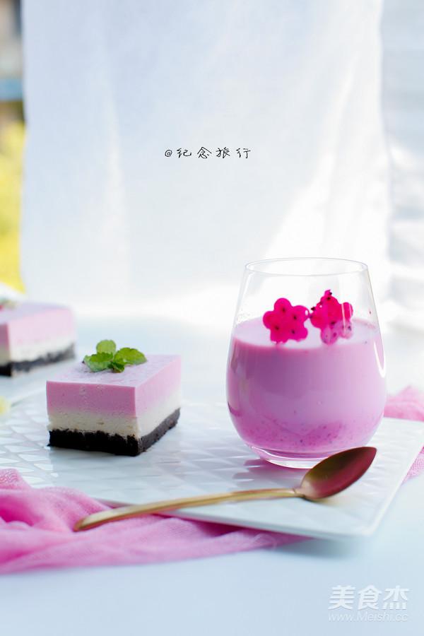 火龙果酸奶奶昔怎么做