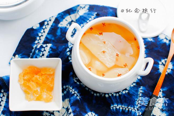 桂花雪梨汤成品图