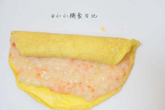 胡萝卜虾泥蛋卷怎样做