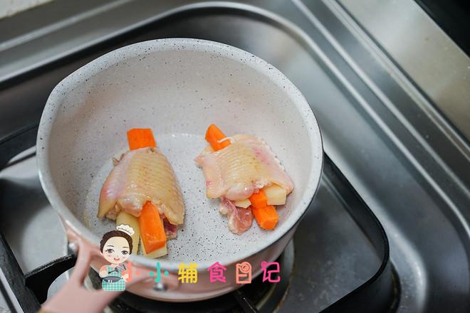 土豆无骨鸡翅面条套餐怎么做