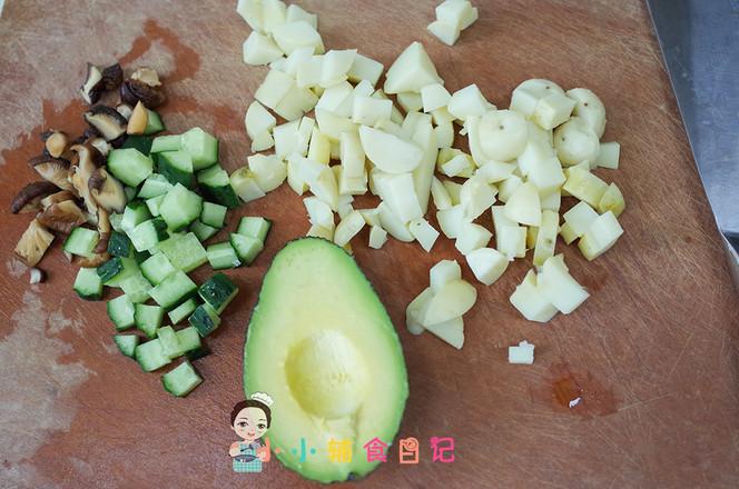 牛油果虾仁炒饭的做法大全