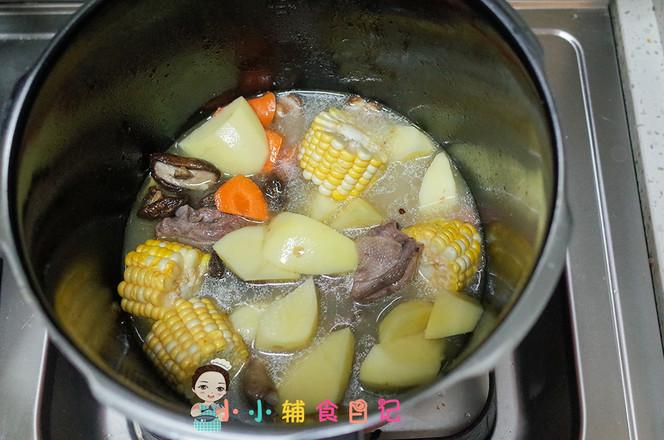 36个月以上玉米蔬菜鸭汤怎么炒