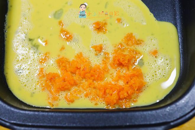 9个月以上辅食胡萝卜花朵厚蛋烧怎么吃