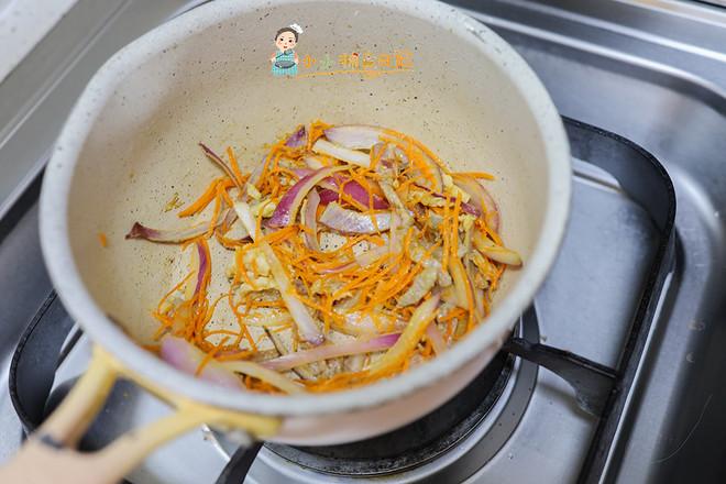 10个月以上辅食洋葱胡萝卜炒牛肉丝怎么吃