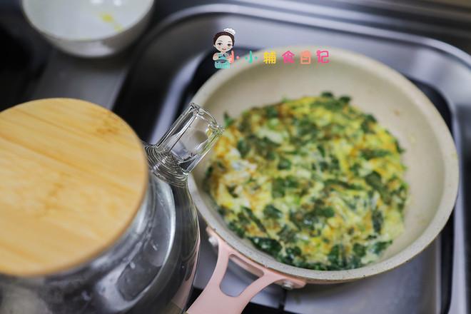 9个月以上辅食九层塔煎蛋面怎么吃