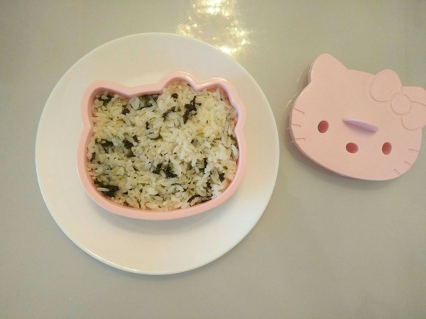 KT猫海苔饭团的简单做法