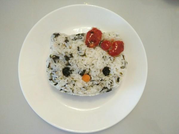 KT猫海苔饭团怎么炒