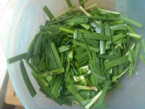 黄豆芽炒韭菜的做法图解