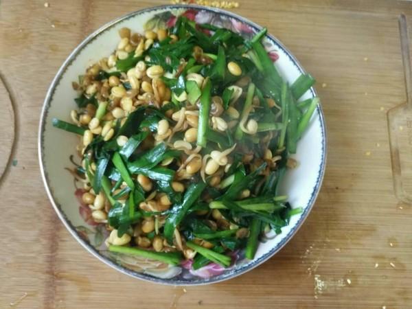 黄豆芽炒韭菜怎么做