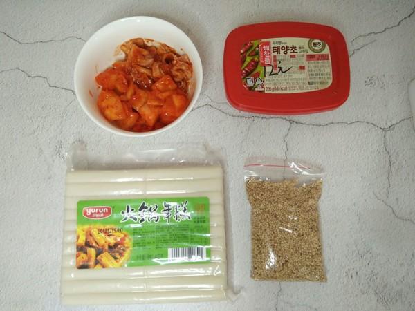韩式辣炒年糕的做法大全