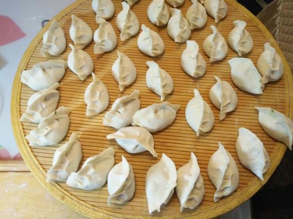 小白菜猪肉水饺的制作