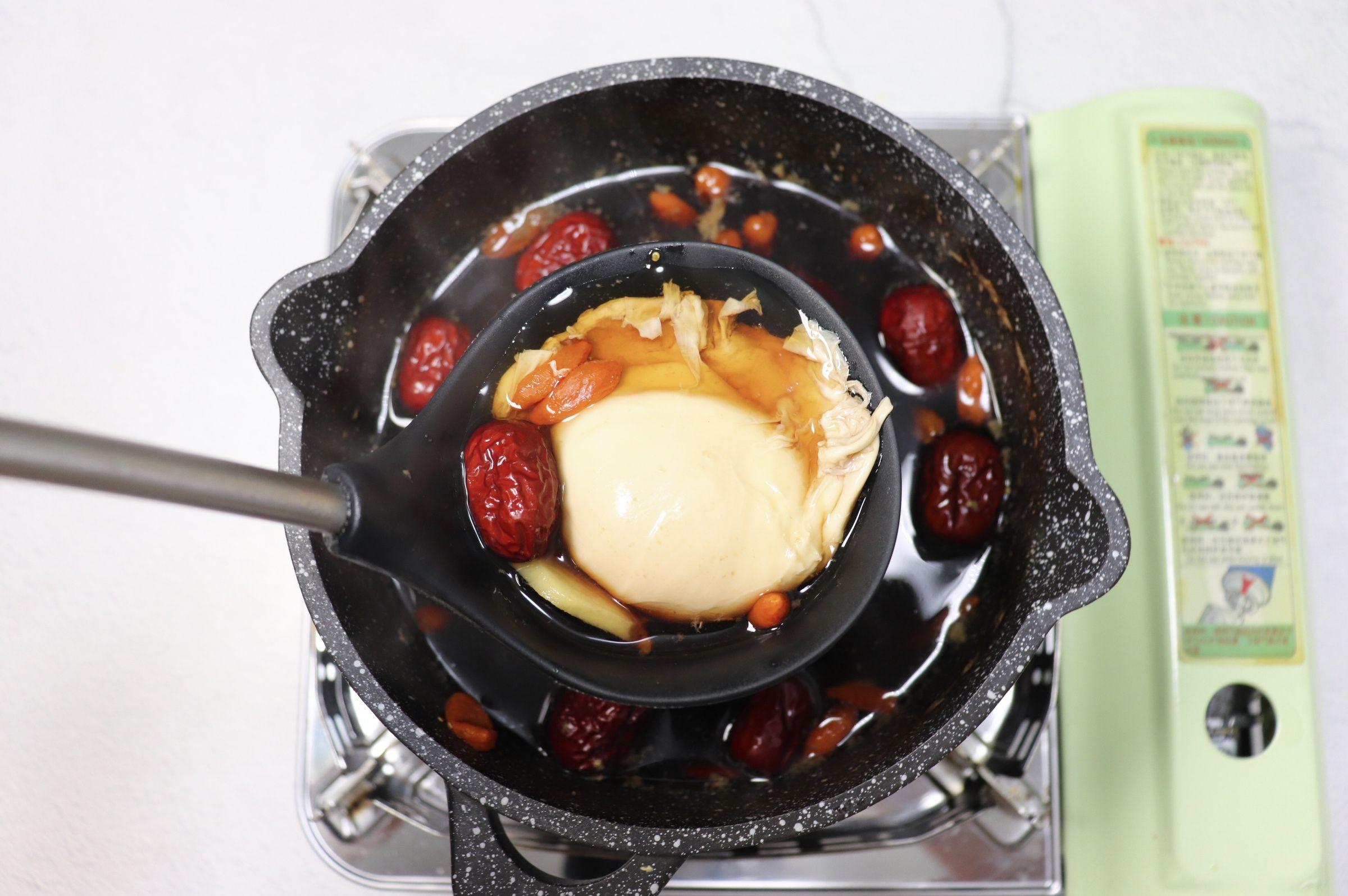 冬日暖身饮品~红糖姜枣煮蛋怎么炖