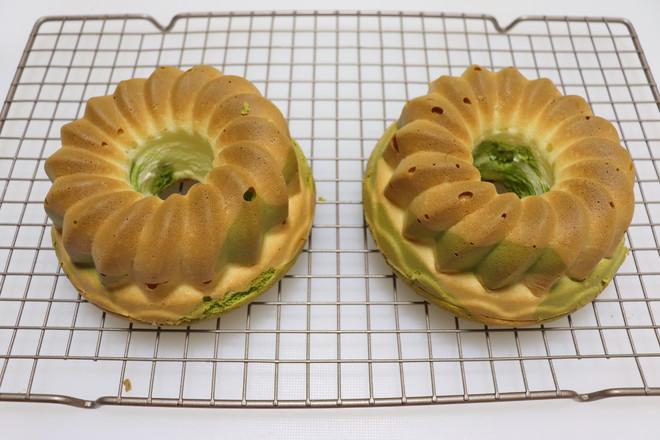 斑斓戚风蛋糕的制作方法