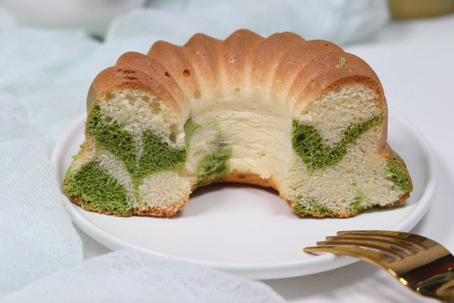 斑斓戚风蛋糕的制作大全