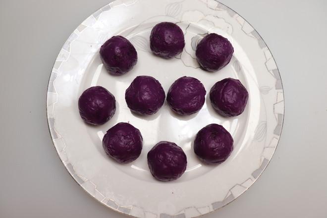 紫薯小花面包怎么炒