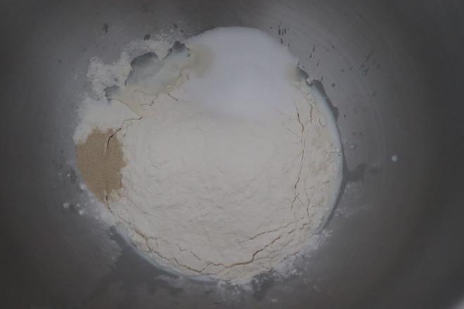 紫米大鼓面包的家常做法