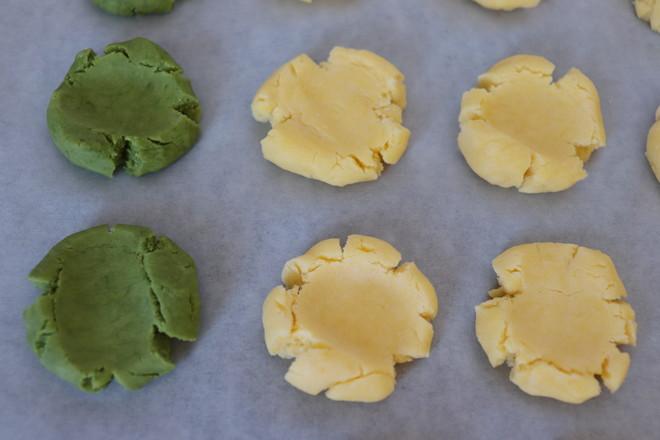 双色玛格丽特饼干的步骤