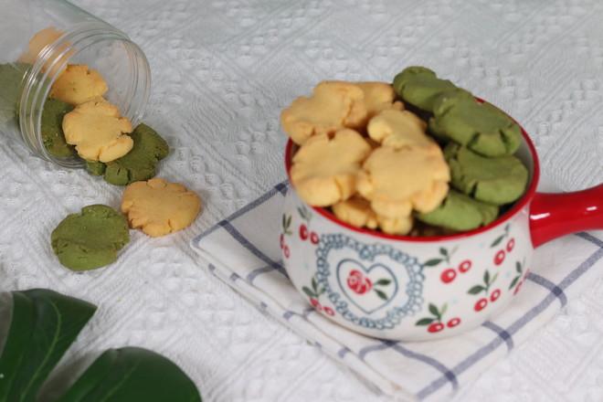 双色玛格丽特饼干成品图