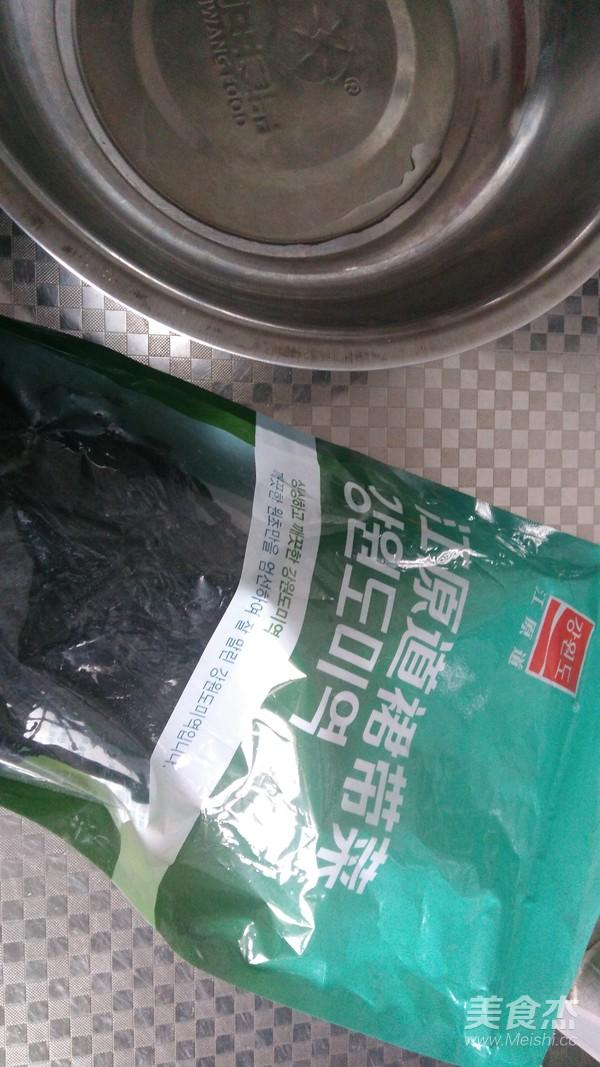 海米凉拌裙带菜的做法大全