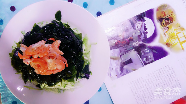 海米凉拌裙带菜的简单做法