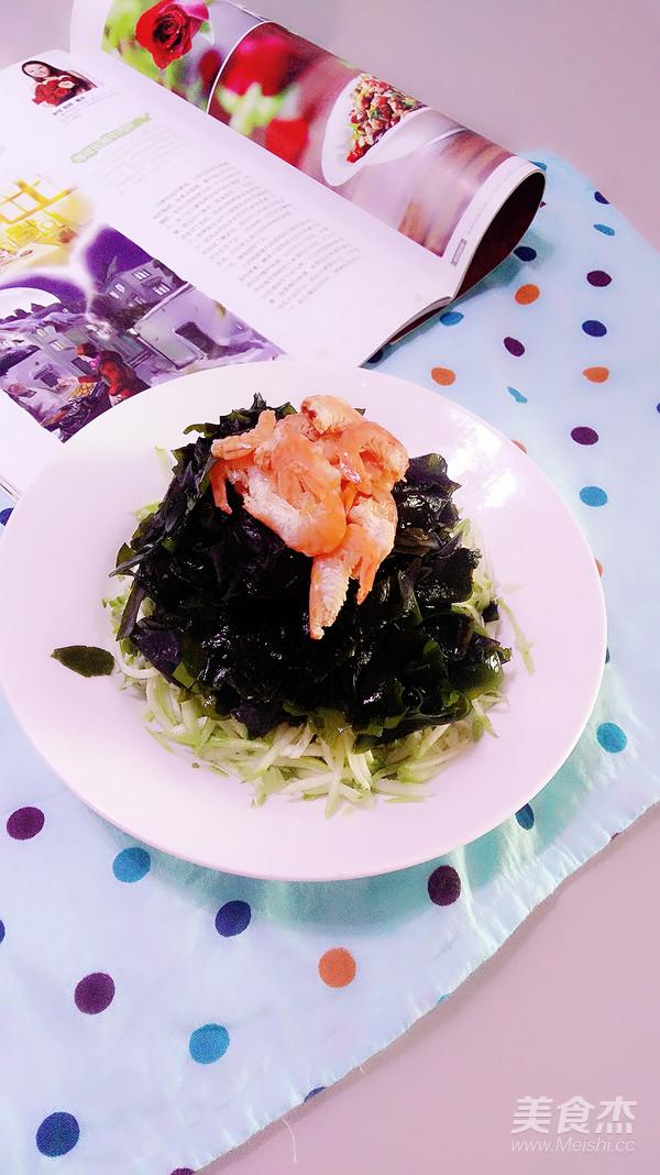 海米凉拌裙带菜怎么做