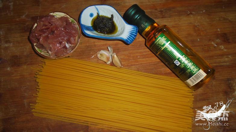 青酱瘦肉意面的做法大全