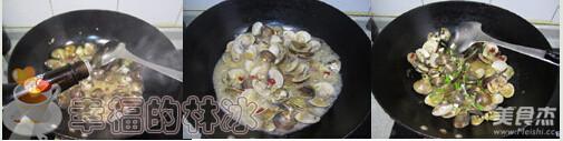 辣炒文蛤的家常做法