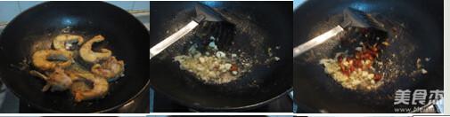 香辣鱼块的做法图解