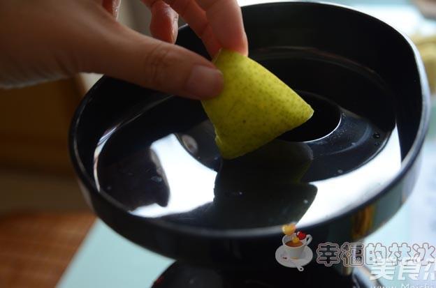 芒果雪梨汁的简单做法