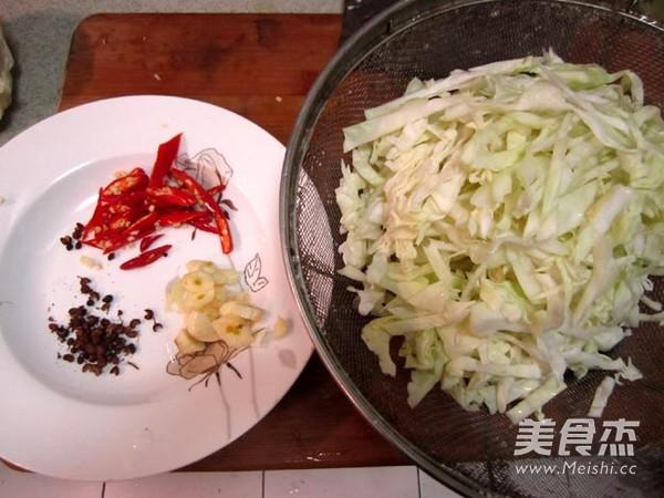 圆白菜炒粉丝的做法大全