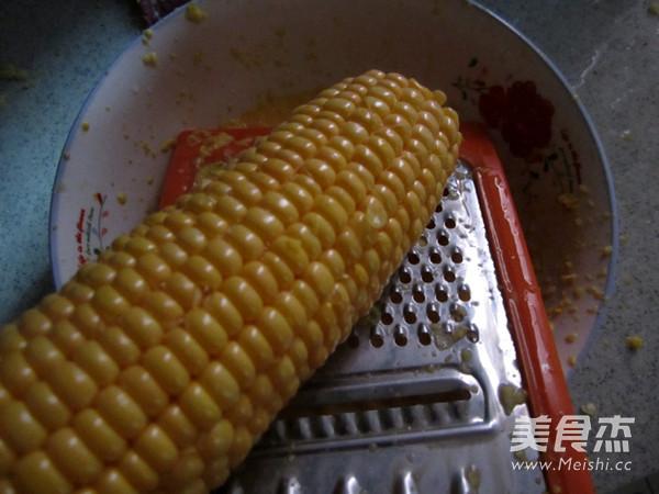 鲜玉米粑粑的做法大全