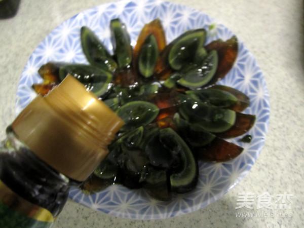 辣椒豆豉拌松花蛋的做法图解