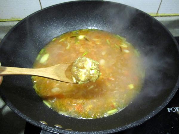 番茄肉丸汤怎么做