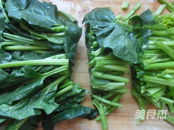 凉拌菠菜的做法图解