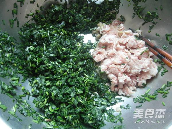 韭菜大蒸饺的简单做法