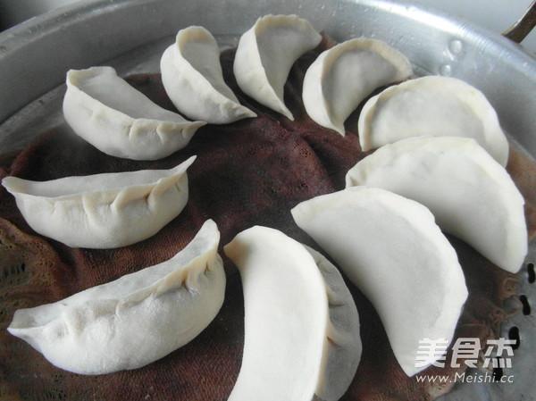 韭菜大蒸饺怎么煸