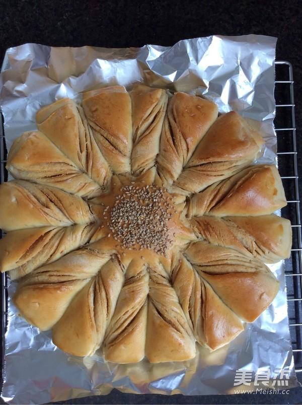 扭纹花式面包怎样做