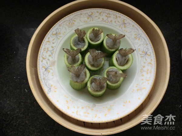 丝瓜蒸虾盅怎么吃