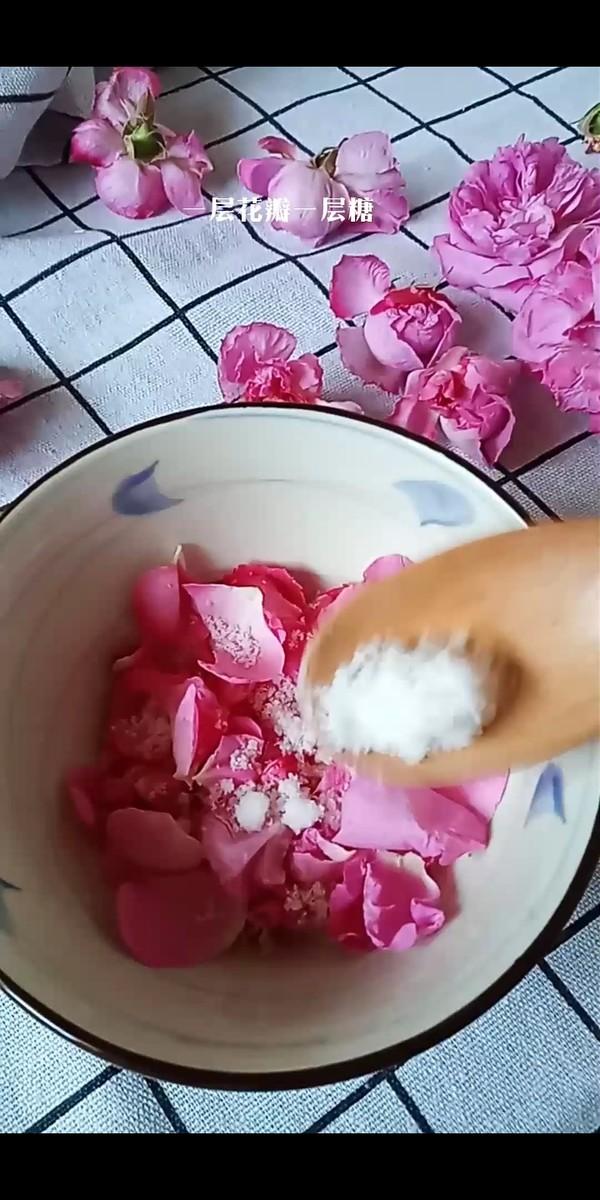 玫瑰花酱的做法图解