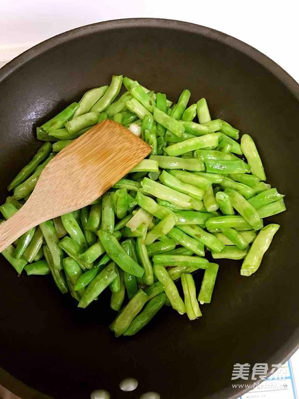 扁豆焖面的家常做法