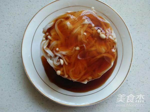 凉拌金针菇怎么做