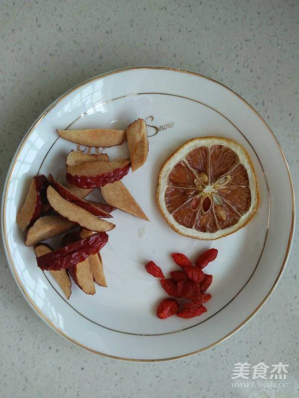 红枣枸杞茶的做法图解