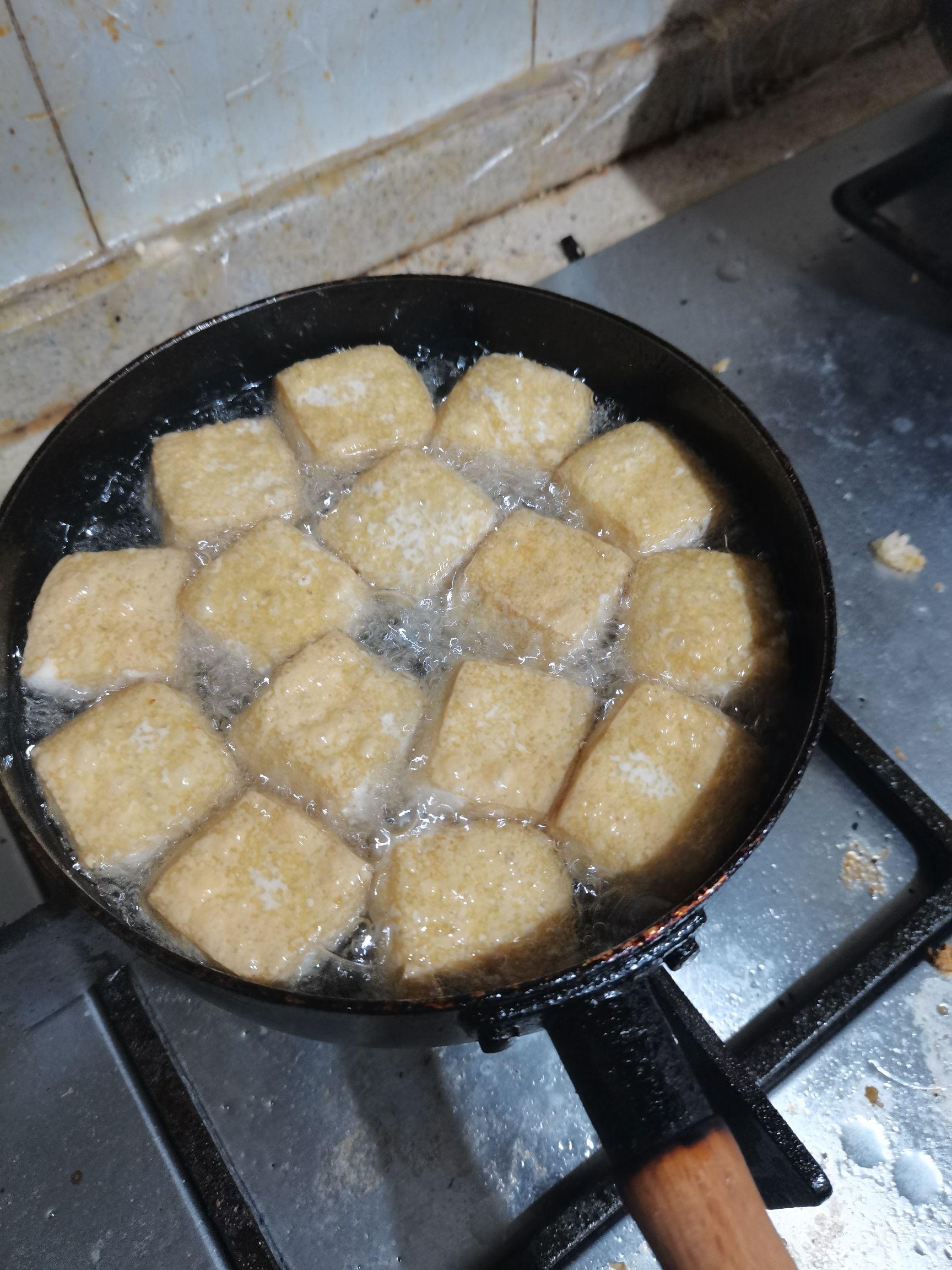 香煎臭豆腐的简单做法