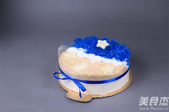 小清新海洋蛋糕,给你带来不一样的清凉夏天怎样炒