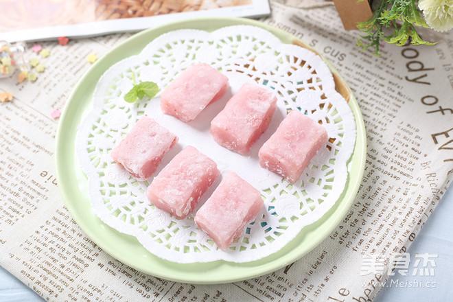 草莓小麻薯怎么煸