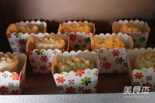 迷你椰蓉面包卷的制作方法