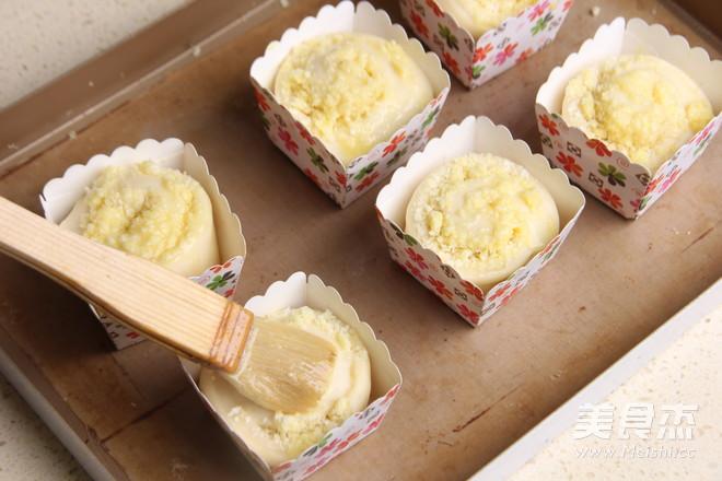 迷你椰蓉面包卷的制作大全